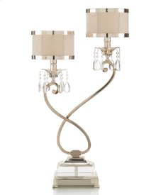 Two-Light Curly Lamp (Right)