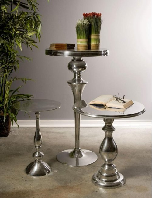 Cheshire Aluminum Side Table