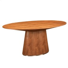Otago Oval Dining Table Walnut