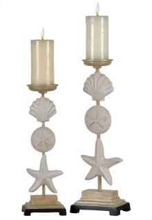 Set Of Seaside Candle Holders