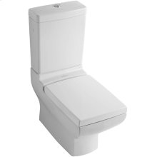 2-PC Toilet - White Alpin CeramicPlus