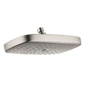 Brushed Nickel Showerhead 300 2-Jet, 2.5 GPM