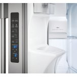 Frigidaire Pro  Professional 22.0 Cu. Ft. Counter-Depth Side-by-Side Refrigerator