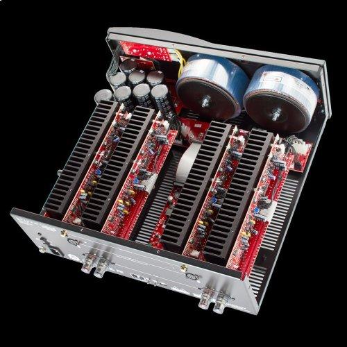 Stereo power amplifier with 400W/600W/800W into 8/4/2 ohms