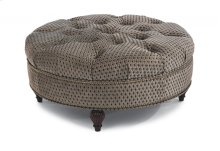 Martin Fabric Round Cocktail Ottoman