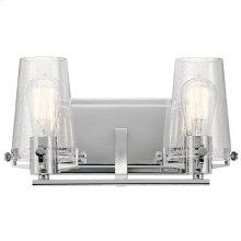 Alton 2 Light Vanity Light Chrome