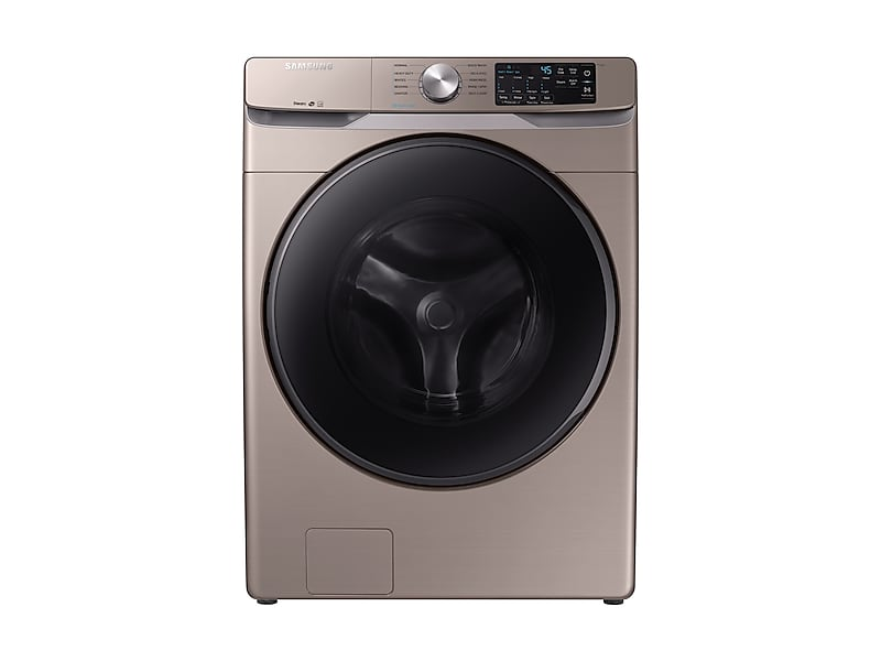 Samsung4.5 Cu. Ft. Front Load Washer With Steam In Champagne