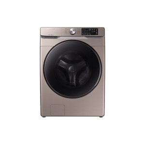 SamsungWF6100 4.5 cu. ft. Front Load Washer with Steam in Champagne