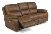 Hendrix Fabric Power Reclining Sofa with Power Headrests Product Image