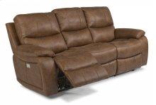 Hendrix Fabric Power Reclining Sofa with Power Headrests