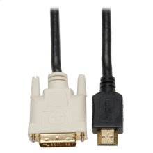 HDMI to DVI Cable, Digital Monitor Adapter Cable (HDMI to DVI-D M/M), 30-ft.