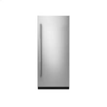 "36"" Built-In Column Refrigerator with RISE Panel Kit, Right Swing"