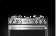LG SIGNATURE 6.9 cu.ft. Smart wi-fi Enabled Gas Double Oven Slide-In Range with ProBake Convection®