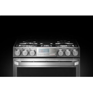 LG AppliancesLG SIGNATURE 6.9 cu.ft. Smart wi-fi Enabled Gas Double Oven Slide-In Range with ProBake Convection®