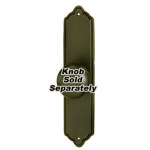 Escutcheon A1226-4 - Chocolate Bronze