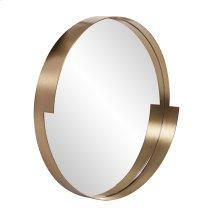 Intrepid Round Mirror