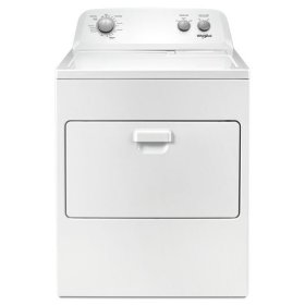 Whirlpool® 7.0 cu. ft. Top Load Gas Dryer with AutoDry™ Drying System - White