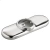 4-inch Deck Plate for Selectronic and Metering Faucets - Polished Chrome