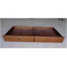 Halsted Walnut Underbed Storage