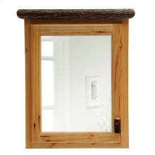 Medicine Cabinet - 27-inch - Natural Hickory - Hinge Left