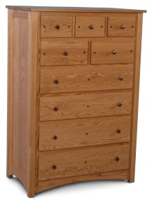 Royal Mission 9-Drawer Chest