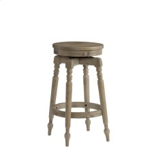 30 Inch Swivel Barstool (1/Ctn) - Sandy Blonde Finish