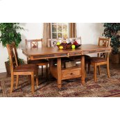 Sedona Butterfly Dining Table W/slate