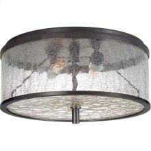 Visual Comfort KW4202BZ-CRG Kelly Wearstler Liaison 2 Light 12 inch Bronze Flush Mount Ceiling Light, Medium