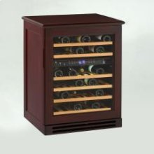 Model WCR534WDZD-M - Credenza Style Wood Cabinetry Dual Zone Wine Chiller