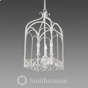 Smithsonian Gateway 3 Light Pendant in French White