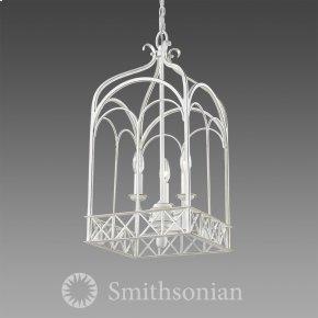 Smithsonian Gateway 3 Light Pendant in French White