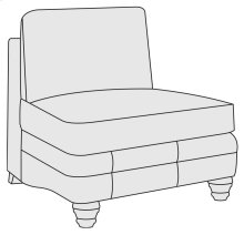 Tarleton Armless Chair in Brandy (703)