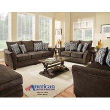 3850 - Athena Brown Sofa