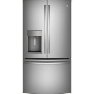 GE®ENERGY STAR® 27.7 Cu. Ft. Fingerprint Resistant French-Door Refrigerator