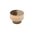 Flute Large Knob - CK10015 Silicon Bronze Brushed Product Image