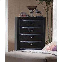 Briana Black Five-drawer Chest