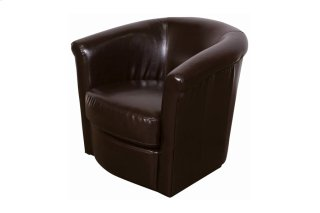 Marvel Swivel Chair Brown