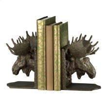 Moosehead Bookends S/2