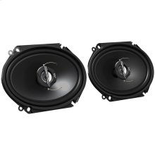 "J Series Coaxial Speakers (6"" x 8"", 2 Way, 250 Watts)"