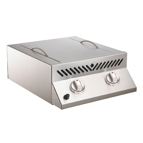 Built-In Flat Top SIZZLE ZONE Head with two Infrared Burners