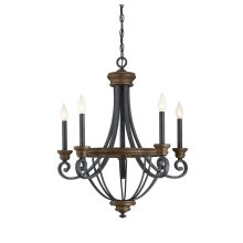 Wickham 5 Light Chandelier