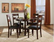 Rd Leg Table, W/4 Chairs