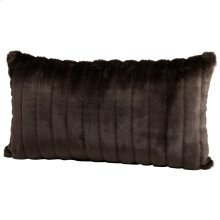 Faux Beaver Pillow