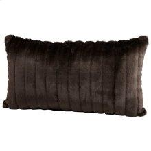Faux Beaver Pillow