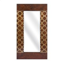 Hill Gold Leaf Geometric Mirror