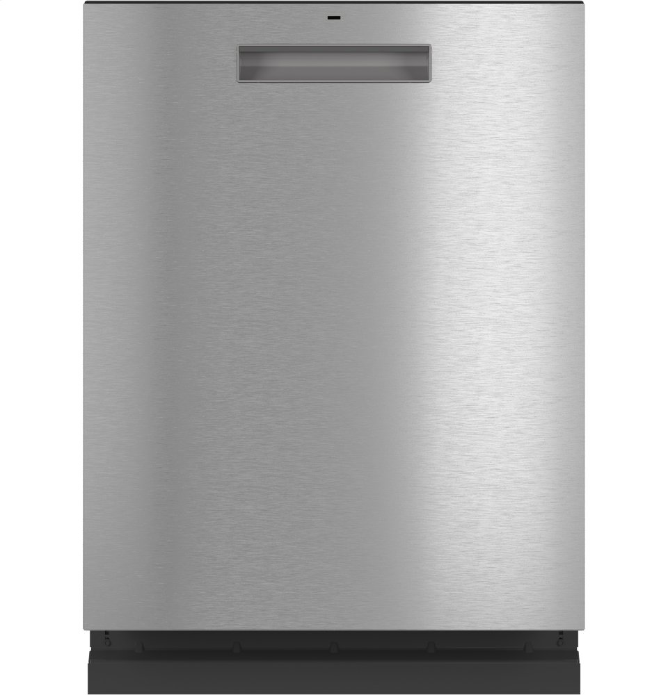 Cafe AppliancesCaf(eback) Stainless Steel Interior Dishwasher With Sanitize And Ultra Wash & Dry In Platinum Glass
