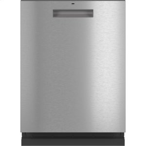 CafeStainless Interior Built-In Dishwasher with Hidden Controls
