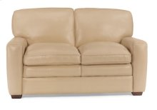 Stevens Leather Love Seat