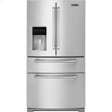 "Jenn-Air 69"" Standard-Depth French Door Refrigerator, Pro-Style® Stainless Handle"
