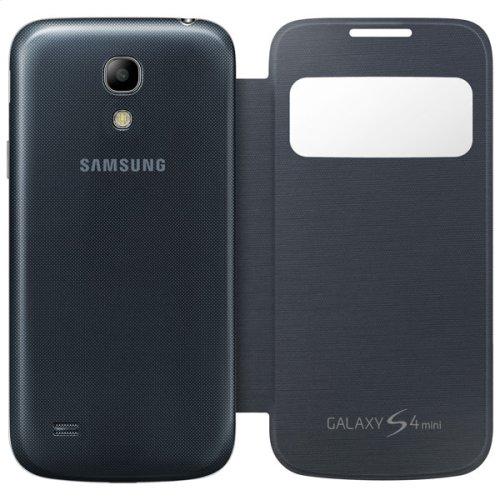 Galaxy S 4 mini S-View Flip Cover, Black